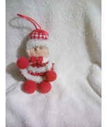 Mrs Claus Fabric Christmas Ornament - $3.50