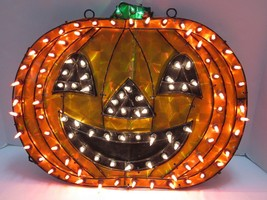Totally Ghoul 100 Light Holographic Pumpkin Indoor Outdoor New In Box Pl... - $30.63