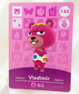 132 - Vladimir - Series 2 Animal Crossing Villager Amiibo Card - $19.99