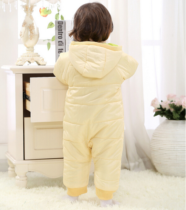 Baby Kid Toddler Boys Girls Winter Padded Onesie Romper Jumpsuit Outfit Snowsuit image 6