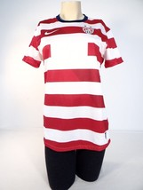 Nike Dri Fit US Soccer Team Red & White  Short Sleeve Jersey Woman NWT - $134.99