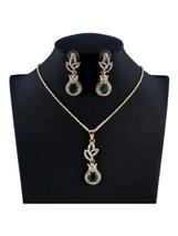 Women's 3Pcs Jewelry Set Pendant Decor Necklace Earrings Jewelry Set - $8.99