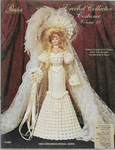 Crochet Collector Costume Vol. 27-1908 Edwardian Bridal Gown-Skirt-Bodic... - $8.56