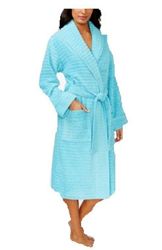 Charter Club Textured Terry Robe Horizon Haze 776d807d6
