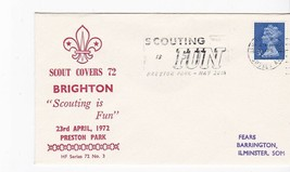 BOY SCOUTS SCOUTING IS FUN SCOUT COVERS 72 BRIGHTON PRESTON PARK LONDON - $1.98