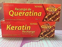 Pack of 2: Keratin Recharge (Recarga de Queratina) 80g Embelleze - $23.01