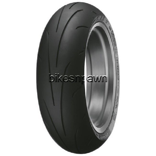 New Dunlop Sportmax Q3+ Radial Rear 190/55ZR17 73W Motorcycle Tire