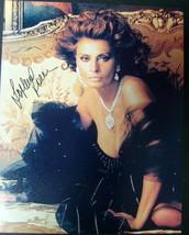 SOPHIA LOREN (ORIGINAL SEXY AUTOGRAPH PHOTO) VA VA VOOM - $158.40