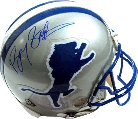Primary image for Barry Sanders signed Detroit Lions TB Replica Mini Helmet