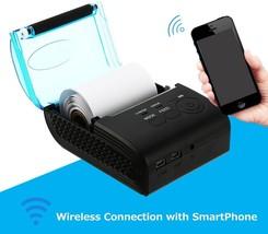58mm Bluetooth 4.0 Android 4.0 POS Receipt Thermal Printer Bill Machine - $54.29