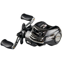 ZANLURE YLT100 6.3:1 10+1 BB Metal Fishing Baitcasting Reel Magnetic Bra... - $58.60