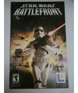 Playstation 2 - STAR WARS BATTLEFRONT (Replacement Manual) - $8.00