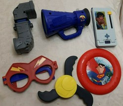 Lot Of 6 Loose Mc Donalds Happy Meal Justice League Toys - $14.35