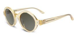 New Converse Jack Piersol Y004 UF Round Clear Yellow w/Grey lens 46-22mm - $53.85