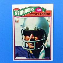 Steve Largent 1977 Topps Rookie Card #177 NFL HOF Seattle Seahawks - $39.55