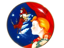 Christmas Visit~By Pamela Paperone collector Plate - $11.11