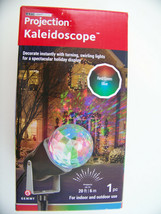 Projection Kaleidoscope Led Light Show Turning, Swirling Light Red Green... - $13.53