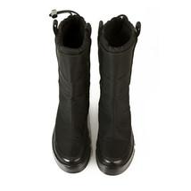 Prada Linea Rossa Black Nylon Platform Snow Apres Ski Boot Ret. $850. Booties 36 image 2