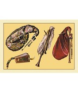 Cornemuse, Calabrian Bagpipe, Musette by Theodore Thomas - Art Print - $19.99+
