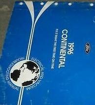 1996 Lincoln Continental Elettrico Cablaggio Evtm Servizio Negozio Manua... - $18.78