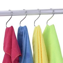 LOYMR 10 Pack 4.7 Inches Extra large S Shape hooks Heavy-duty Metal Hanging Hook image 7
