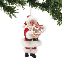 "Department 56 Possible Dreams Dedicated Hero 6"" Firefighter Ornament - $19.99"