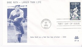 BABE RUTH #2046 CHICAGO, IL JULY 6, 1983 JWL CACHET D-695 - ₹228.14 INR