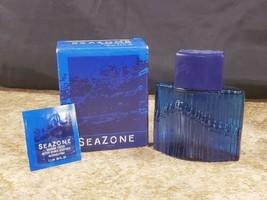 Avon SeaZone 3.4 OZ Eau De Cologne Splash 100 ml Decorative Glass Bottle - $24.23