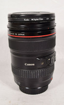 Canon 24-105 mm Lens with Hoya 77mm Filter - $495.00
