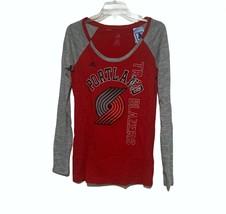 Women's Adidas Portland Trail Blazers Liquid Dots L/S Tee Sz MD NWT - $24.72