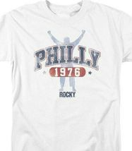 Rocky Movie 1976 Philly Sylvester Stallone Philadelphia Graphic T-shirt MGM151 image 3