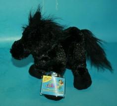 Webkinz Horse New Sealed Code HM145 Black Stallion Plush Stuffed Animal Soft Toy - $19.32