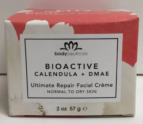 Primary image for (New) BodyCeuticals Bioactive Calendula + DMAE Ultimate Repair Face Cream, 2 Oz
