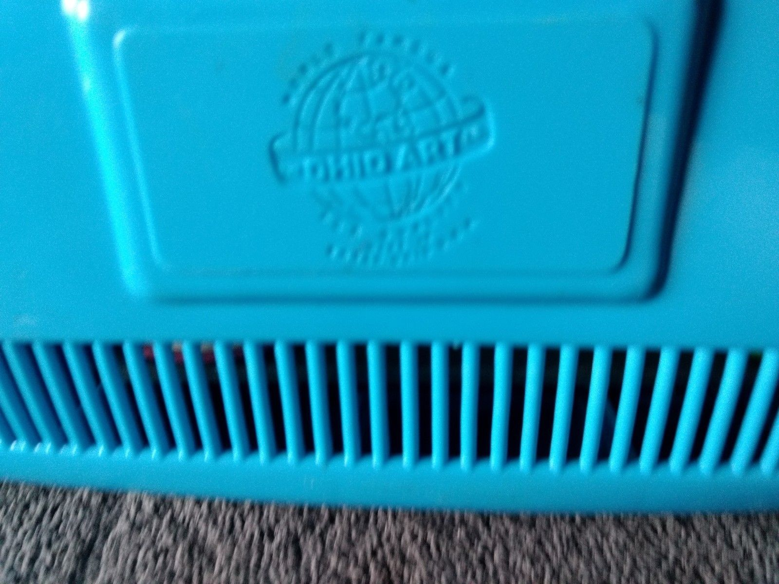VINTAGE ANTIQUE COLLECTIBLE OHIO ART WIND-UP LULLABY TOY TELEVISION TV