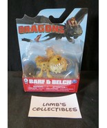 Dreamworks Dragons error rare mini Gronkle in Barf & Belch package seale... - $71.24