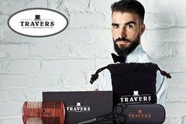 Travers Brands Beard Grooming Kit for Men, Beard & Mustache Growth Grooming & Tr image 3
