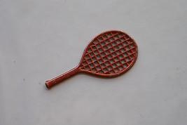 Old Vintage Metal Tennis Racquet Toy Advertising Premium PrizeCharm Crac... - $9.99