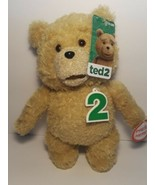 """From The Movie Ted 2  Ted 9"""" Talking Plush Stuffed Animal Toy Brand New ... - $19.79"""