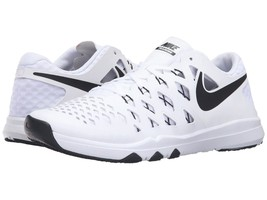 Men's Nike Train Speed 4 Training Shoes, 843937 103 Sizes 8-15 White/Black - $89.95
