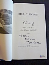 President Bill Clinton GIVING Signed Autographed Book BAS Beckett Certified - $399.99