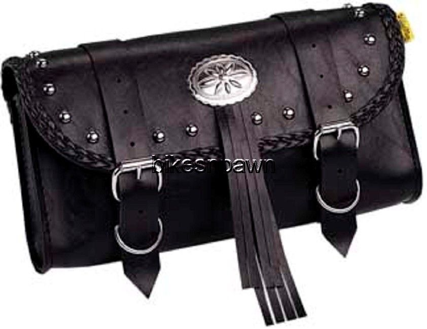 New Willie & Max Warrior Motorcycle Studded Tool Pouch TP272