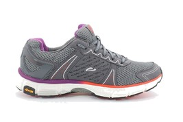 Abeo Rapid Sneakers Running Shoes Charcoal / Mulberry Size US 7.5 =  5756 - $80.00