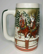 Budweiser 1984 Commemorative 1984 Clydesdale Stein, Free Shipping! - $24.99
