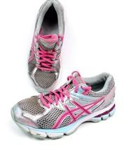 Asics GT 1000 T4K8N Womens 7 Running Tennis Shoes Lightning Hot Pink Sne... - $15.59