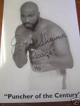 """Vintage BOXING Photo & Autograph EARNIE SHAVERS """"Peace"""".........SALE - $24.75"""