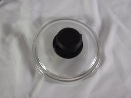 """Replacement Glass Cook Pan Lid  6"""" Across Plastic Screw On Handle  (#006 - $6.92"""