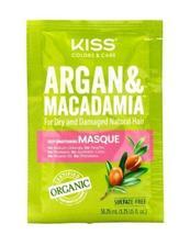 Kiss Colors & Care Argan & Macadamia Deep Conditioning Masque 1.75 oz - $1.50