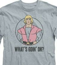 Masters of the Universe He-Man Whats Goin On? long sleeve gray tee DRM277 image 3