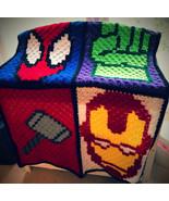 Crochet custom character blanket - $60.00