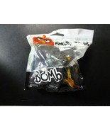 """Angry Birds Bomb Fat Black Bird 2"""" PVC Figure Cake Topper New Spin Master  - $7.42"""